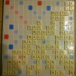 Report on a scrabble variation